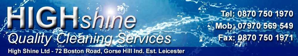 High Shine Ltd - Quality Cleaning Services Leicester