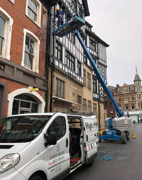 Building cleaning service Leicester