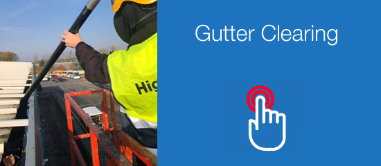 Gutter clearing services Leicester